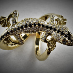 Ibiza Schmuck Gecko Ring