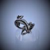 Naturgetreuer Gecko Ring