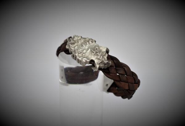 Ibiza Leder Armband in 3D