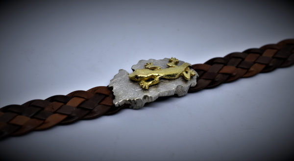 Inselarmband mit Gecko